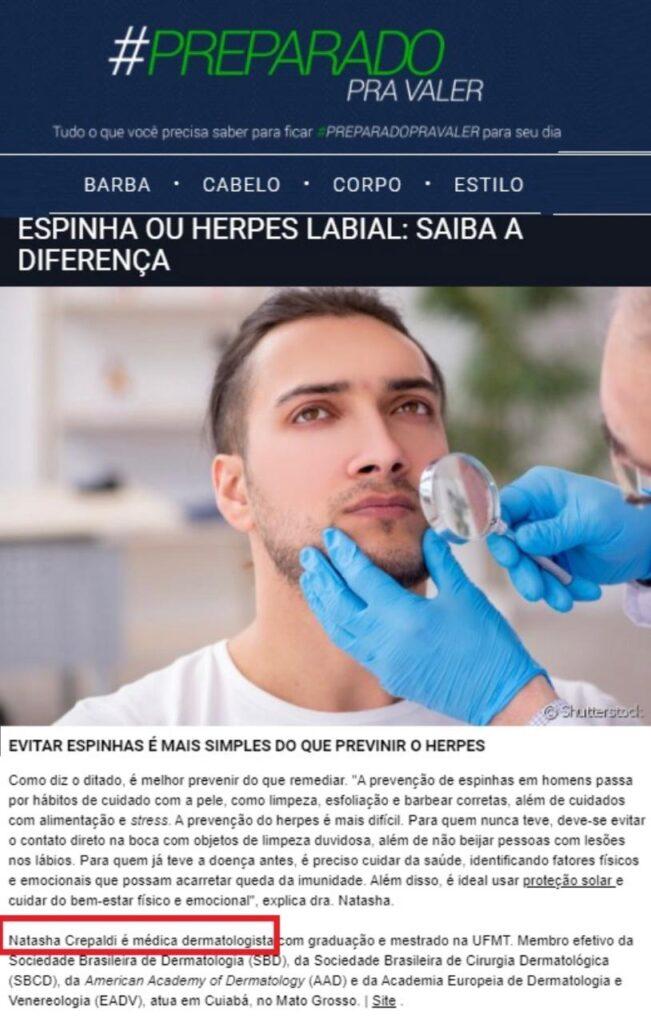 Blog Dra Natasha Inspira - Grupo Crepaldi